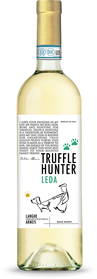 Langhe Arneis DOC - Wines Truffle hunter Leda